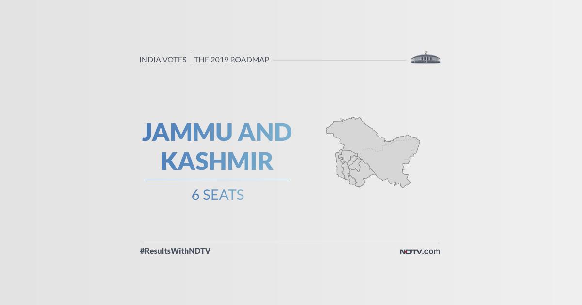 LIVE Jammu And Kashmir Lok Sabha Election Results 2019