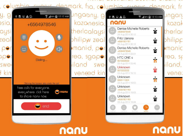 Nanu For Android Lets Users Make Free Calls Over 2g Networks