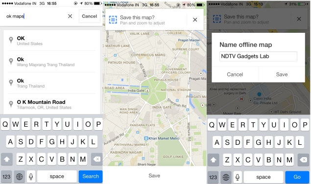 How to Download and Use Google Maps for Android, iOS Without ... Save Map For Offline Use on print maps, facebook maps, service maps, online interactive maps, advertising maps,