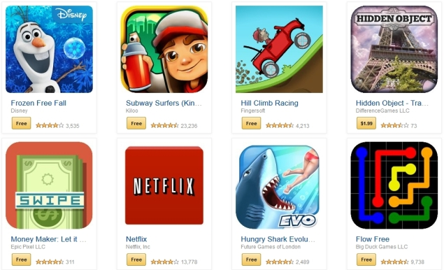 Third-party App Stores Go Where Google Play Does Not
