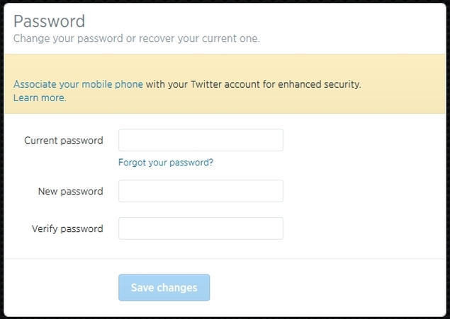 How to Change Gmail, Facebook, Twitter, and LinkedIn Password ...