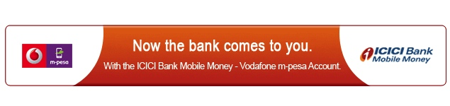 Vodafone India launches M-Pesa mobile wallet with ICICI Bank