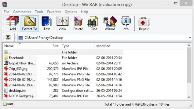 what to do with a winrar file