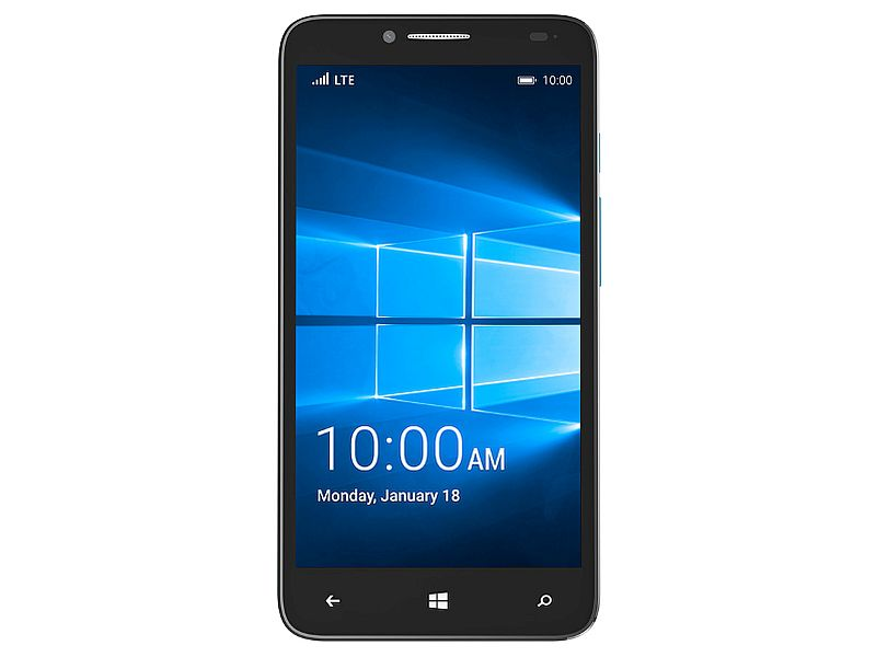 Alcatel OneTouch Fierce XL With Windows 10 Mobile Launched at CES 2016