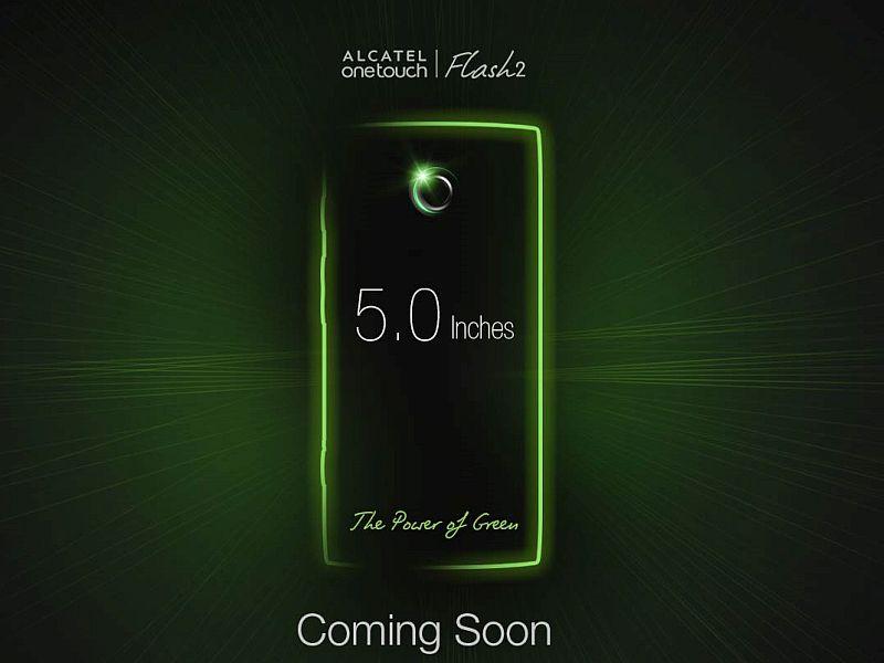 Alcatel OneTouch Flash 2 Launch Set for September 22