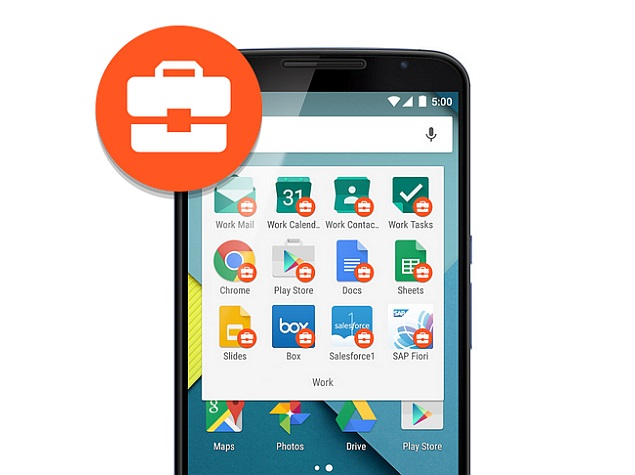 Google's Android for Work Hits Play Store; Drive App Updated and More