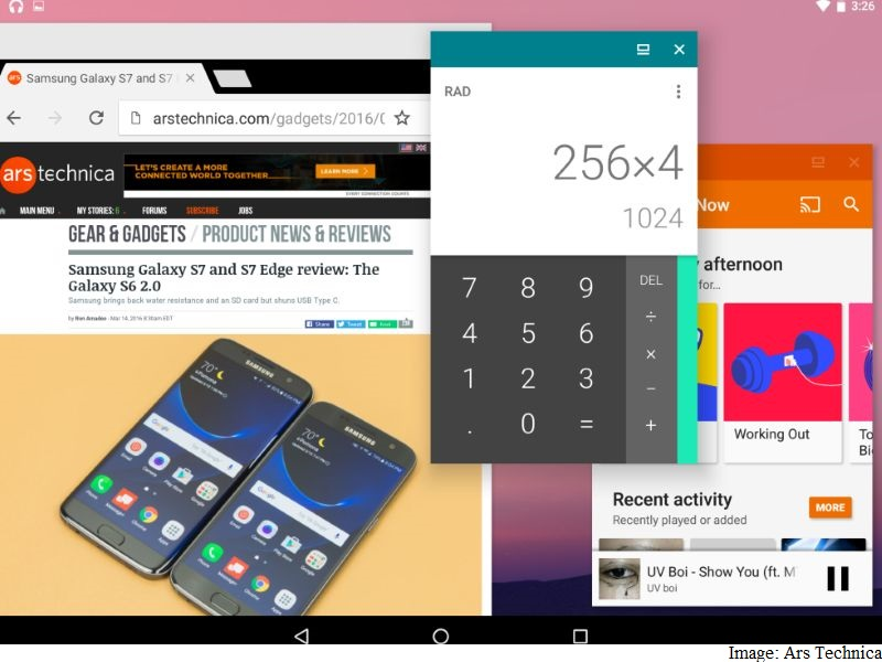 Android N's Freeform Windows Mode Spotted in Screenshots