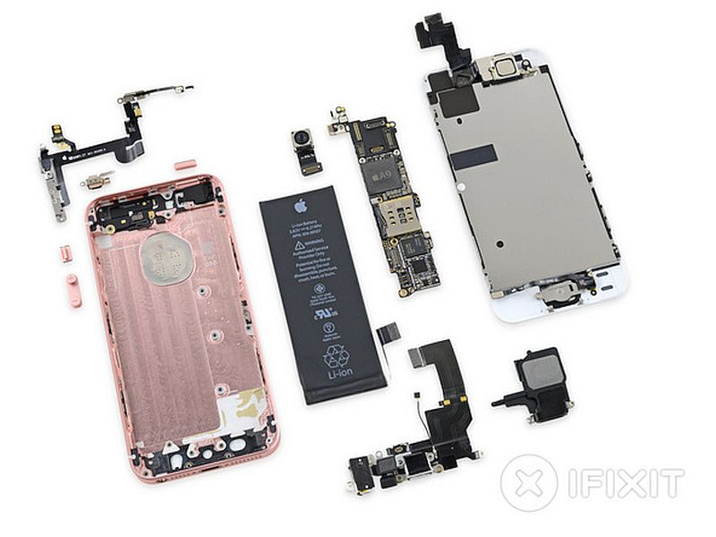 ifixit iphone 5s battery iphone se packs display identical to iphone 5s larger 1729