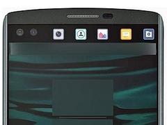 एलजी वी10 फोन की तस्वीर लीक, 'टिकर' डिस्प्ले की मिली झलक