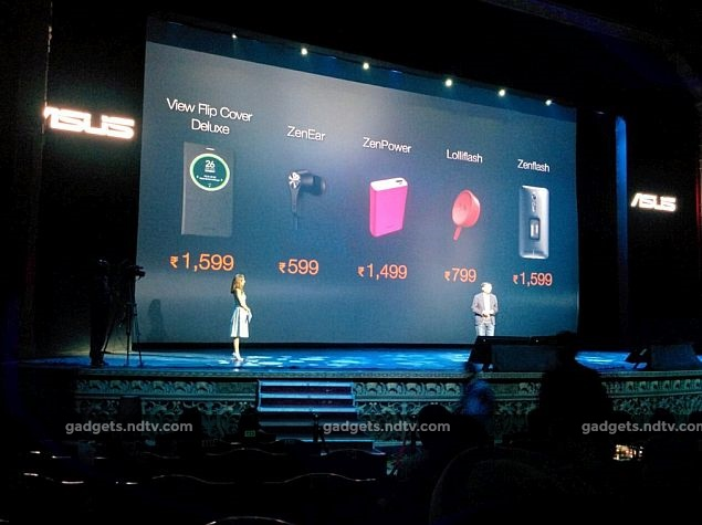 Asus ZenFlash, LolliFlash, and ZenPower Accessories Launched in India