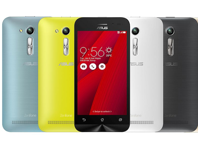 Asus ZenFone Go 4.5 'Refreshed' Variant Launched Starting Rs. 5,299