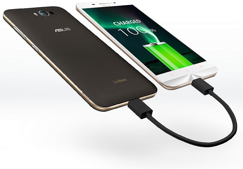 Asus zenfone max with 5000mah battery launched at rs 9999 asuszenfonemaxpowerbankg sciox Choice Image