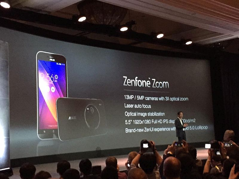 Asus ZenFone Zoom and ZenFone Max Launching at IFA 2015, Says CEO