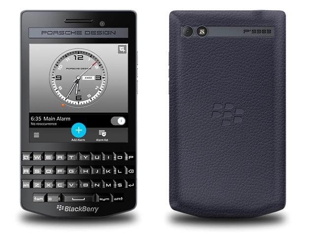 BlackBerry Porsche Design P'9983 Graphite Premium Smartphone Launched