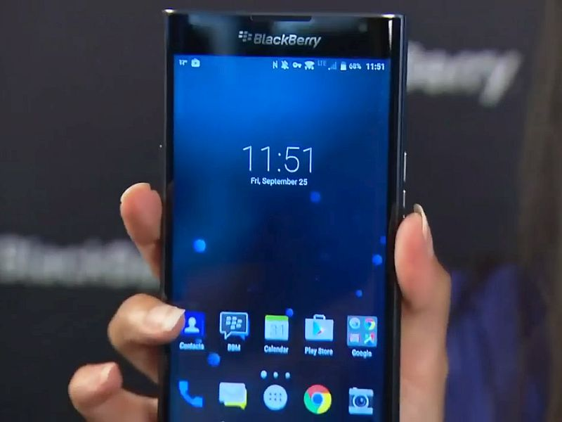 BlackBerry Priv Android Slider Smartphone Showcased on Video by CEO