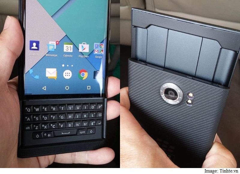 BlackBerry 'Venice' Android Slider Smartphone Leaked in Live Images