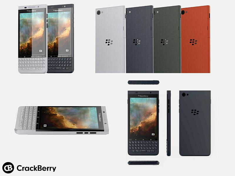 BlackBerry's Second Android Phone 'Vienna' Leaked in Images