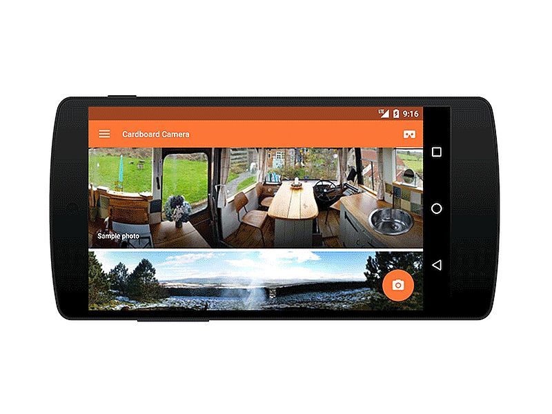 Google Cardboard Camera App Lets Android Users Click 'VR Photos'