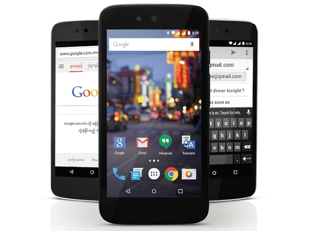 Google's Android One Reaches Myanmar With Cherry Mobile One