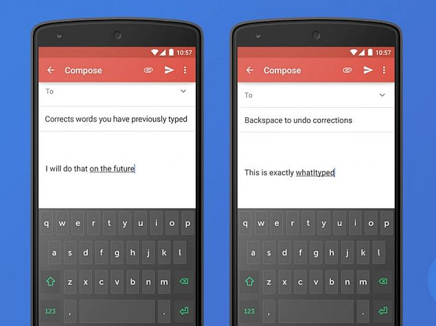 how to change autocorrect words on android