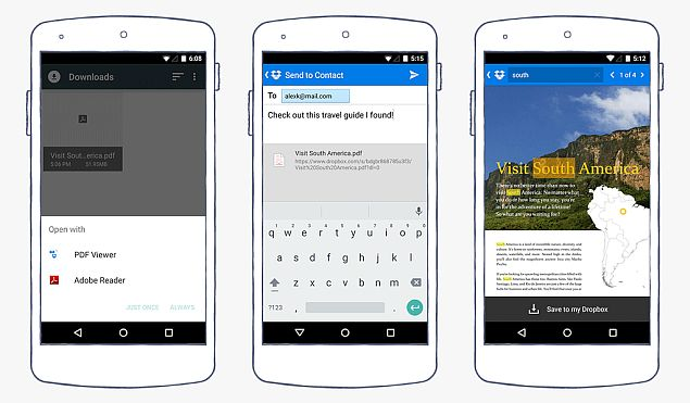 Dropbox for Android Update Adds PDF Viewer and In-Document Search