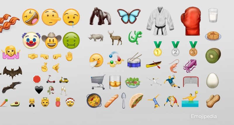 2020 New Emojis Unicode 9.0 to Bring 72 New Emojis Including Face Palm, Selfie
