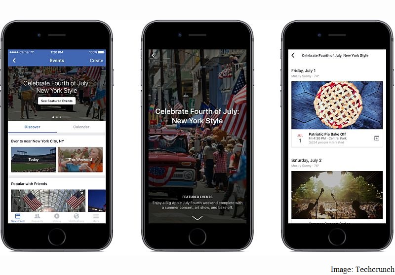 Facebook Launches Human-Curated Events and Slideshow Movie-Maker