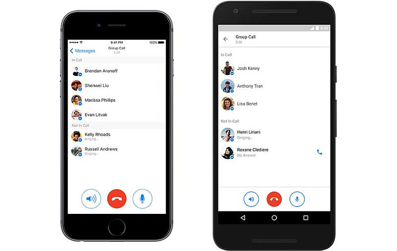 Facebook Messenger Now Lets You Make Group Calls With Up to 50 People