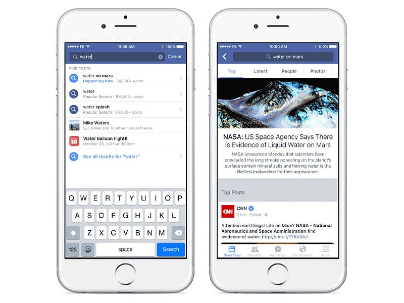 Facebook Testing Topic-Based News Feeds on Mobile