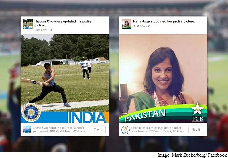 ICC World Cup 2016: Facebook's Profile Frames Feature Sees India, Pakistan Fans Unite