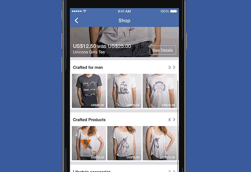 Facebook Shop Launch Lets You Buy Stuff Directly on the