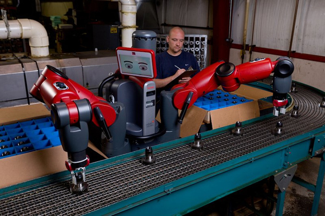 Robot that works alongside humans launched in US