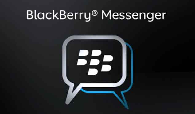 BlackBerry Messenger available for Android and iOS via 'line-up system'