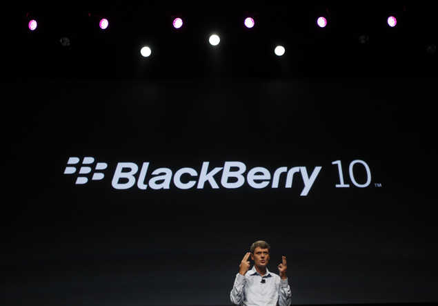 US federal agency to test BlackBerry 10 as RIM shares hit seven-month high
