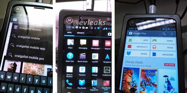 Motorola XFON purported pictures leak online