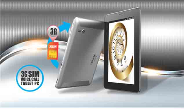 Celkon CT910+ HD tablet with voice calling launched for Rs. 7,999