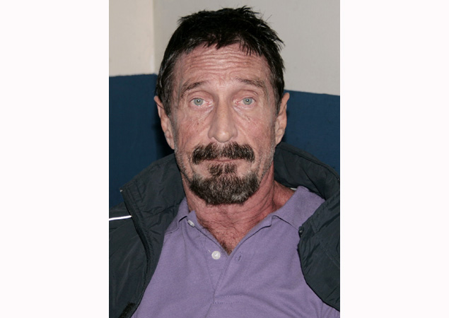 John McAfee wants to return to US