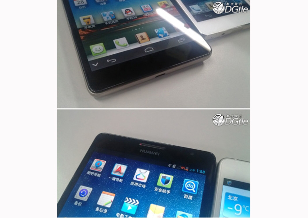 Fresh images of 6.1-inch Huawei Ascend Mate and 5-inch Ascend D2 spotted online