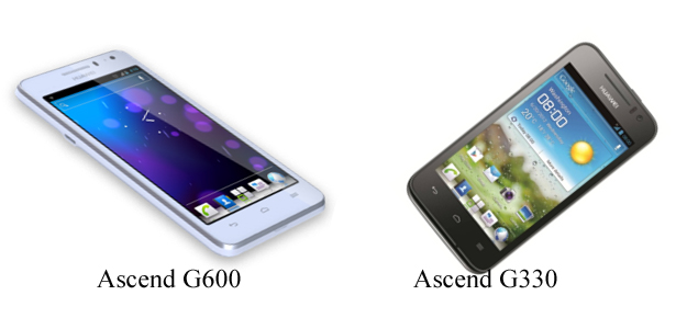 Huawei launches Ascend G600 and Ascend G330