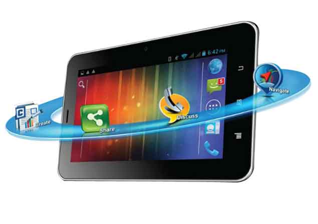Karbonn's Android Jelly Bean tablet with 3G voice calling available for Rs. 9,490