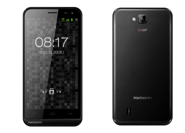 Karbonn A12 with Android 4.0 available online for Rs. 7,699