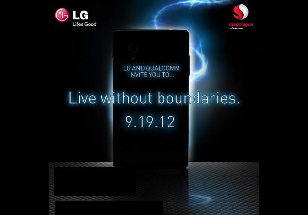 LG to unveil Optimus G on September 19?