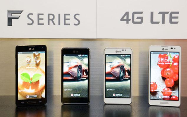LG showcases Optimus G, Vu, L and F series smartphones at MWC