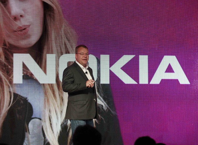 Smartphone laggard Nokia picks up pace under CEO Elop
