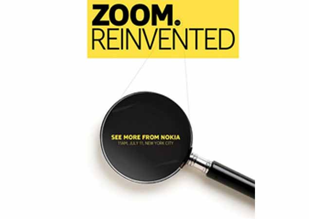 Nokia EOS launch expected at 'zoom reinvented' event on July 11