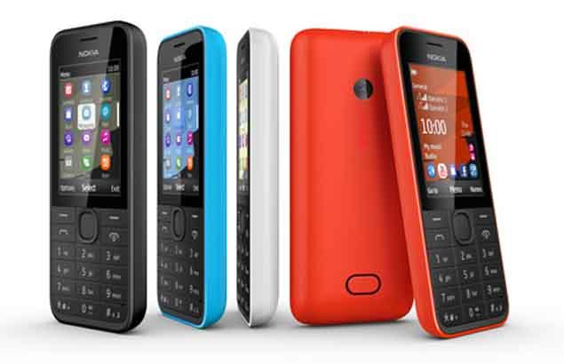 Nokia 207, Nokia 208, Nokia 208 dual-SIM feature phones