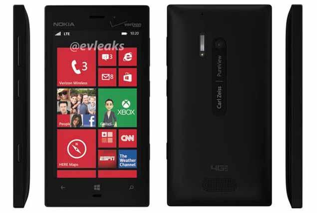 Nokia Lumia 928 image surfaces on Twitter