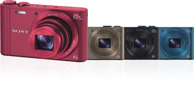 Sony launches Cyber-Shot WX300 with 20x optical zoom, Wi ...