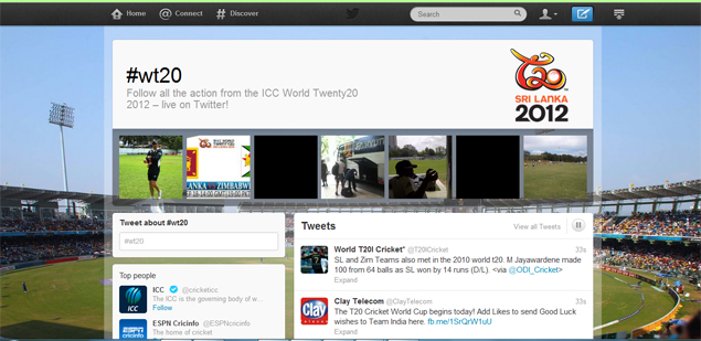 Twitter bets big on ICC T20 World Cup with special page, exclusive access
