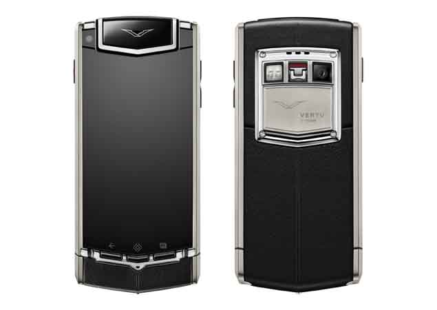 f4c38a9b1 Vertu TI luxury phone launched in India for Rs. 6